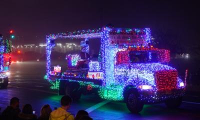 10th Annual Orangeburg Volunteer Fire Association's Holiday Parade