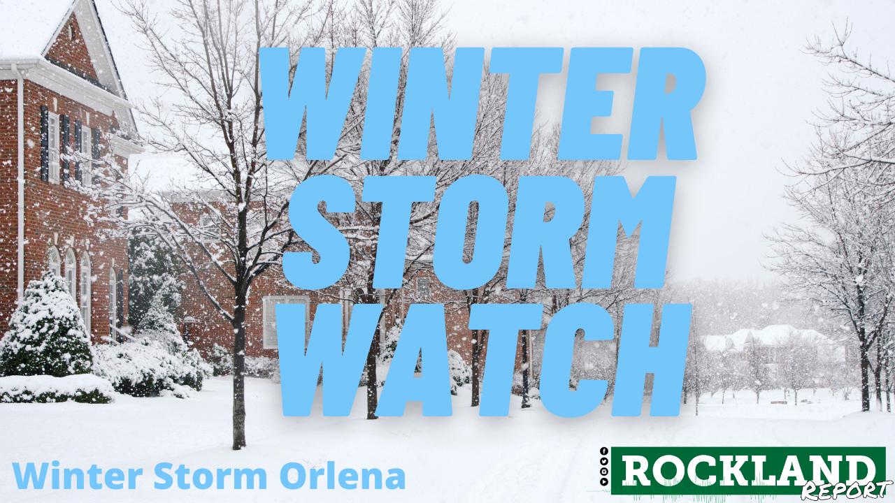Winter Storm Warning - Rockland Report